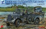 35175 German Horch Staff Car (Kfz.15) Early Version