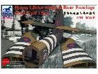 AB3574 Horsa Glider Wings & Rear Fuselage (Tail Unit) Set
