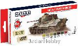 Hataka Hobby HTK-AS94 Late WW2 German AFV (paint set 8 x 17ml)