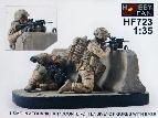 "HF-723 USMC in Afghanistan ""Counteroffensive"" - 2 Fig. w/Base"