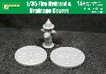 PPA3138 1/35 Fire Hydrant &  Drainage Covers