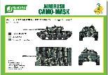 PPA5165 Airbrush CAMO-MASK for 1/35 T55 AM Camouflage Scheme 1