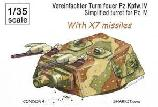 Simplified Turret for Pz.Kpfw.IV ***WITH X7 MISSILES***
