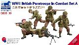 CB35130 WW II British Paratroopers in Combat Set A