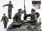 "HF-725 M24 Chaffee ""The First Indonesia War"" French Army - Figs."