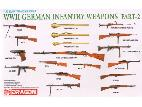 3816 WWII German Infantry Weapons Set Part 2