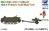 CB35189 Loyd Carrier + 6 Pounder Anti Tank Gun w/Figure