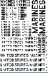 US Marines USMC Decals 1/25 1/35 1/32 1/48 1/72 1/144
