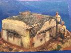 German Bunker Strongpoint W/Cammo BUILT WW2