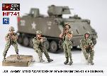 HF741 - US Army M113 ACAV Crew in Vietnam War (4 figures)