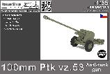 PS35C180  100mm Anti-tank gun Ptk vz.53