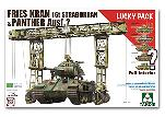 2108 Fries Kran 16t Strabokran & Panther Ausf. ? Lucky Pack (Full Interior)