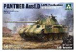 2104 Panther Ausf. D Late Production with Zimmerit Full Interior