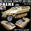 BL35334K SDKFZ 251 FALKE CONVERSION - AFV CLUB