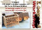 LW042C - 1:35 scale Australian Leopard AS1 Tall Turret Stowage Basket