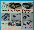 KZ-KT-JAGD Kingtiger / Jagdtiger workable track for Tamiya
