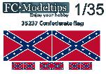 35737 Confederate adaptable flag 1/35