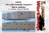 LW035 - 1:35 scale Canadian Leopard 2 'Velcro' patches