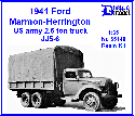 35140 1941 Ford Marmon-Herrington US army 2.5 ton truck JJ5-6 1/35