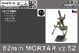 PS35C182 82mm Mortar vz.52