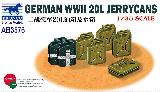 AB3576 German WWII 20L Jerry Cans