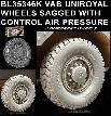 BL35346K   MODERN VAB UNIROYAL WHEELS SAGGED WITH CONTROL AIR PRESSURE