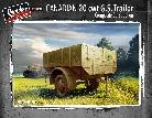35301 Canadian Trailer 20 cwt G.S. composite construction