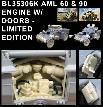 BL35306K   MODERN AML 60 & 90 ENGINE W/ DOORS - TAKOM / LIMITED EDITION