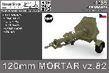 PS35C181 120mm Mortar vz.82