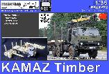 PS35278 KAMAZ Timber & pole trailer (Trumpeter/ ICM)