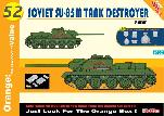 9152 Su-85M Tank Destroyer w/Soviet Infantry Equipment (magic tracks)