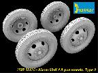 HSR 35135 85mm 52-K AA Gun Wheels, Type 2