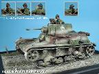 35HM0004 1:35 Polish 7tp Tank Commander #2