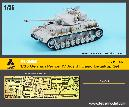 ME-35052 1/35 German Panzer IV Ausf.H Basic Detail-up set for Academy