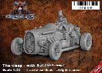 DK35-002 The Wasp with Natasha / Driver - Steam Punk Vehicle