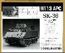 SK-36 Track for M113 APC (w/plastic sprockets)