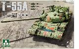 2056 1/35 Russian Medium Tank T-55 A [3 in 1]