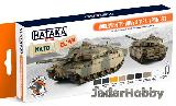 HTK-AS77 Modern British Army & RAF AFV (paint set 8 x 17ml)