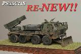 35C118 RM-70 Multiple Armored Rocket Launcher - armored Tatra T-813