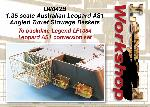 LW042B - 1:35 scale Australian Leopard AS1 Angled Turret Stowage Basket