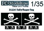 35736 Jolly Roger adaptable flag 1/35
