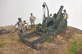 R059 Italian Howitzer Mortar da 210/8 D.S. 1/35 Full Resin kit with Extra Amm