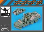 T35205 1/35 Australian Mercedes 6x6 big set complete kit