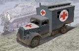 6790 German 3 tons Ambulance Truck