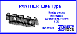 35131  Panther Late type Workable resin track 1/35