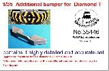 35446 Additional Bumper for Diamond T