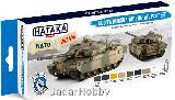 "HTK-BS77 ""Modern British Army & RAF AFV "" (paint set 8 x 17ml)  BLUE LINE – OPTIMISED FOR BRUSH"