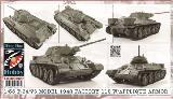 96009 T-34/76 MODEL 1942 FACTORY 112 W/APPLIQUE ARMOR