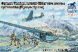 German Tactical Assault Glider DFS 230 B-1 w/Fallschirmjäger (4 Figures)