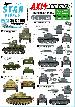 35-C1196 Axis tank mix # 6. Hungarian tanks in WW2, M3 tuart, T-38, Pz 38(t), Pz III M.